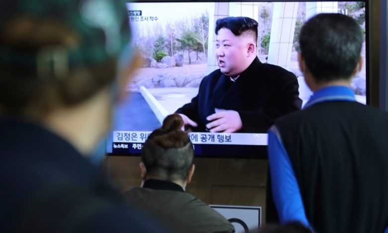 глава Северной Кореи Ким Чен Ын