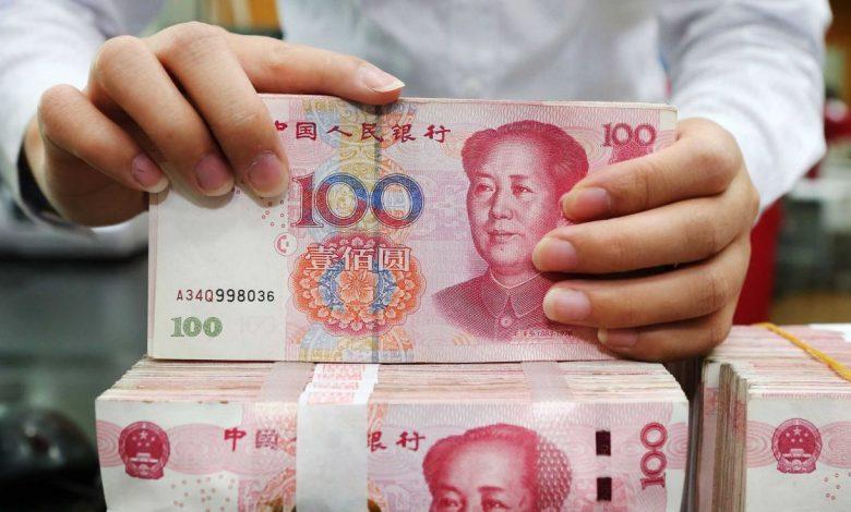 пачки юаней