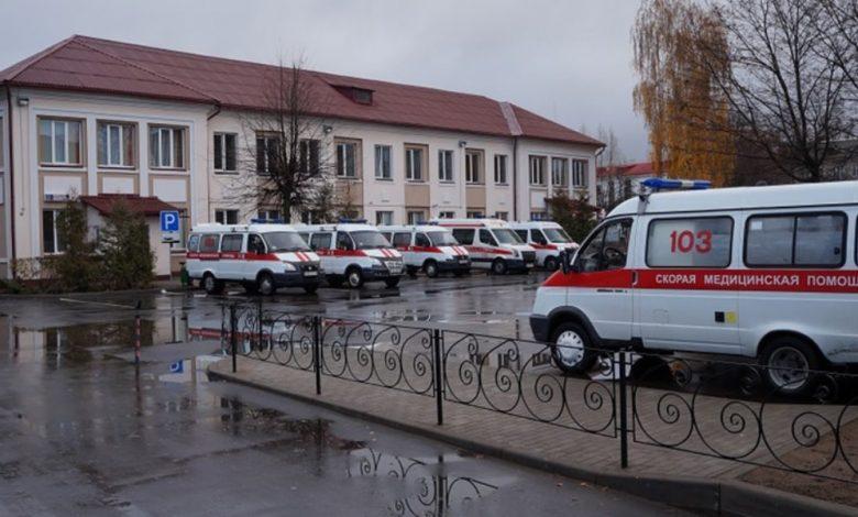 машины скорой помощи, коронавирус