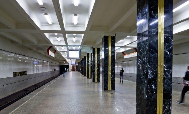 станция метро Партизанская в Минске