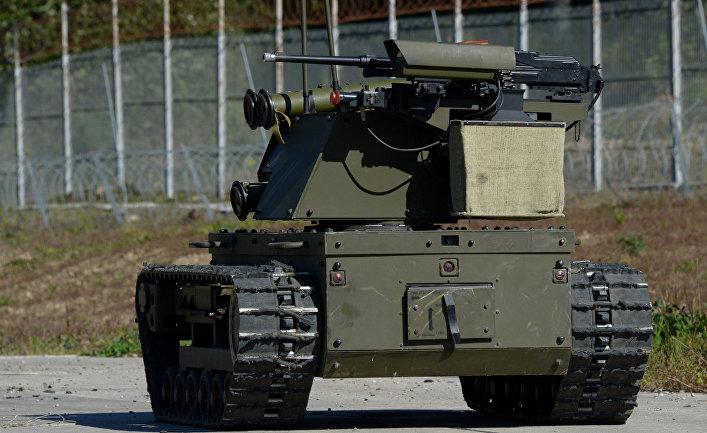 Боевой робот произведённый в России