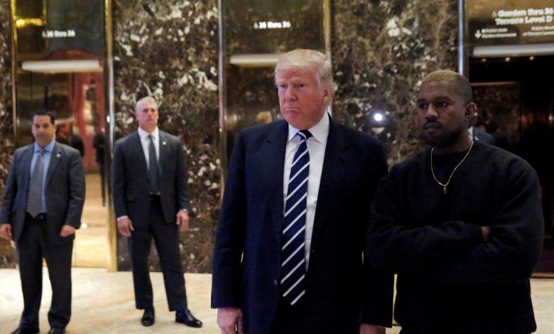 Трамп поддержал решение Канье Уэста баллотироваться в президенты США