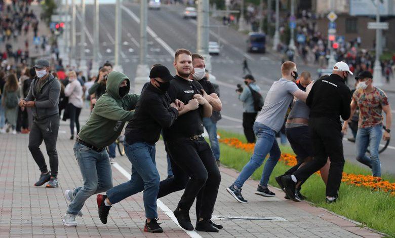В Минске 14 июля задержаны около 200 человек