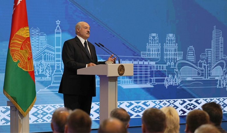 президент Беларуси Александр Лукашенко 7 июля 2020 года встретился с активом Минска