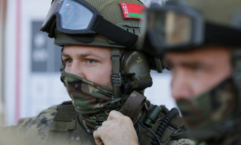 белорусские военные