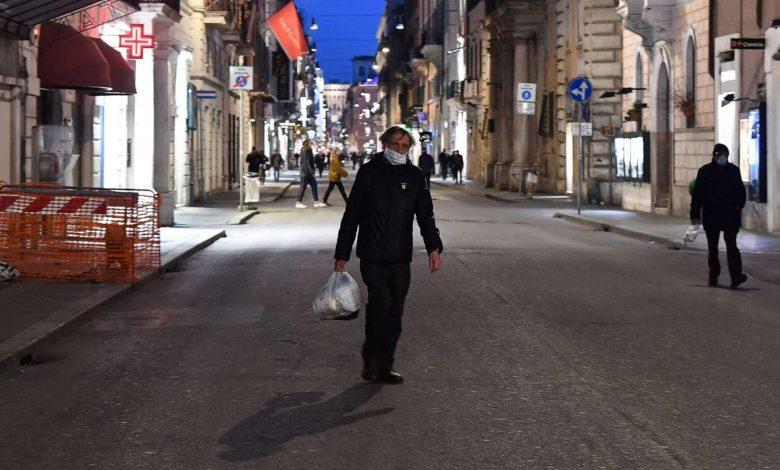 карантин в Италии