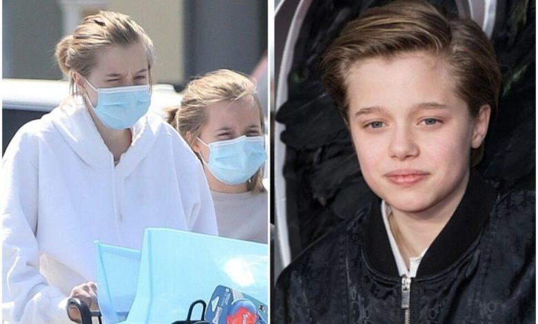 Дочь Джоли и Питта передумала менять пол