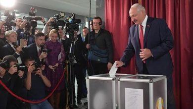 Photo of Лукашенко получает 80,08% голосов на выборах президента Беларуси