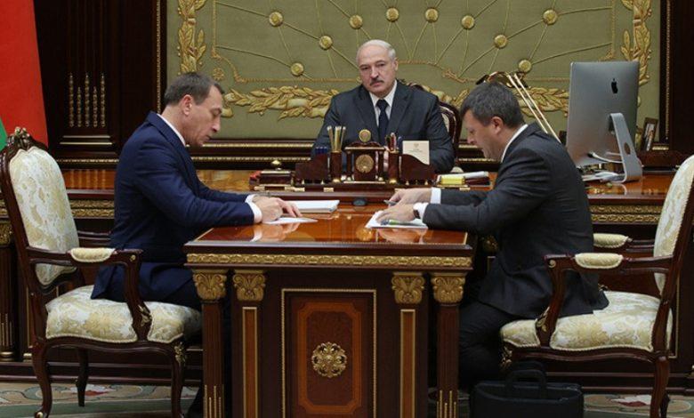 Лукашенко принял с докладом первого вице-премьера и главу Минфина
