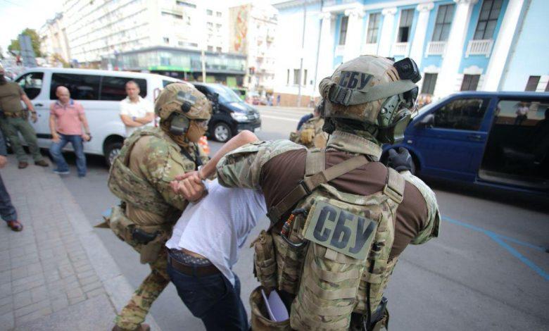 Мужчина, захвативший банк в Киеве, задержан