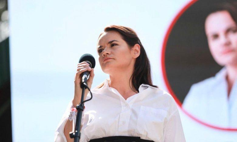 Тихановская обратилась к властям Беларуси после ареста двух членов КС