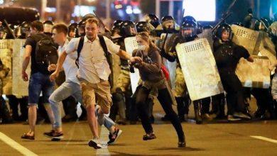 Photo of Пресс-служба МВД: против протестующих в Бресте оружие применили на поражение