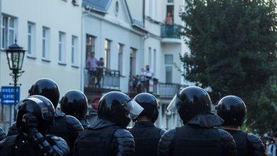 Photo of МВД: в Бресте милиция стреляла по протестующим на поражение