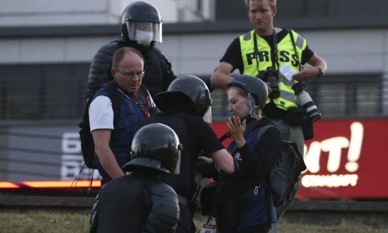 МВД открывает «горячую линию» для близких задержанных во время акций