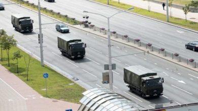 Photo of МВД: в Минск из-за призывов к протестам стягивается спецтехника