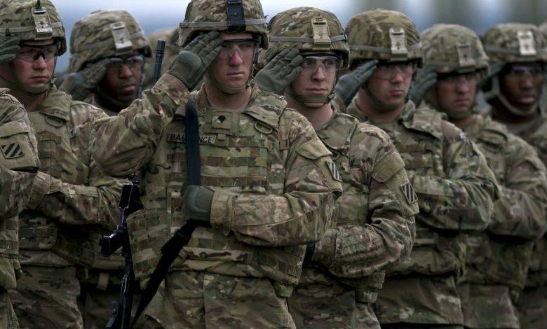 войска НАТО, военные