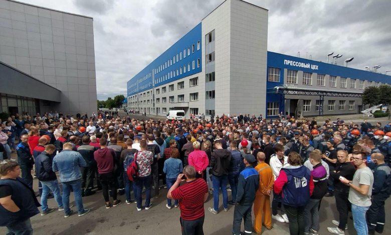 забастовка на БелАЗе