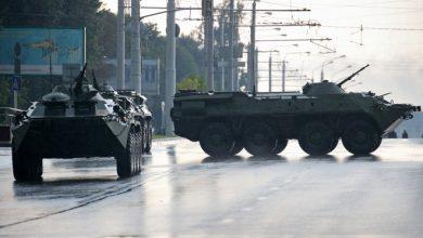 Photo of Силы милиции стянули в центр белорусской столицы