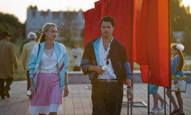 Козловский и Акиньшина вместе посетили премьеру фильма