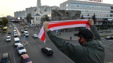 Photo of Утром в четверг пешеходы и автомобилисты замедляли движение в Минске