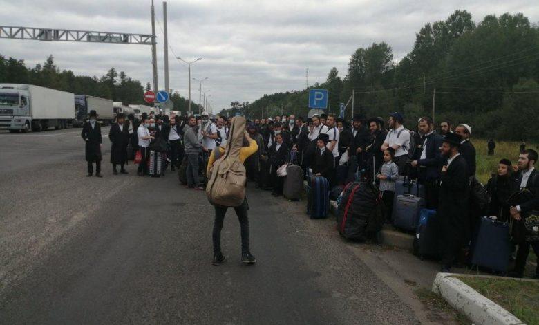 Более 700 еврейских паломников не могут попасть из Беларуси в Украину
