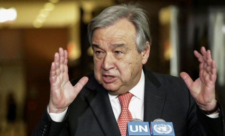 Генсек ООН заявил, что человечество провалило испытание пандемией