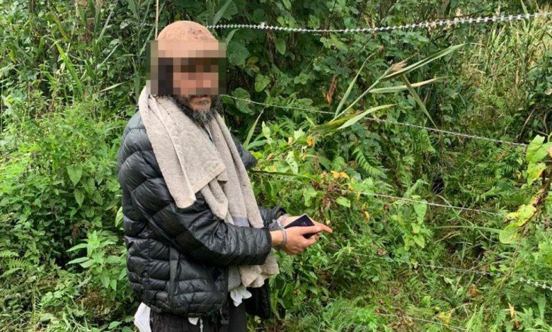 гражданин Израиля нарушил границу