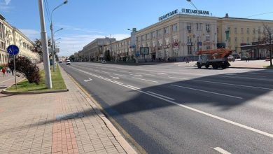 Photo of В Минске перекрыли проспект Независимости
