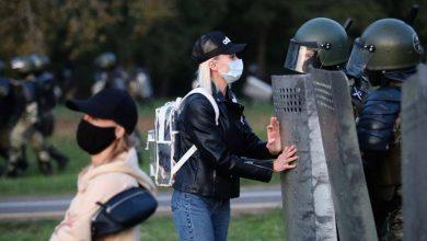 Photo of Участники акций протеста в Минске перекрывали движение