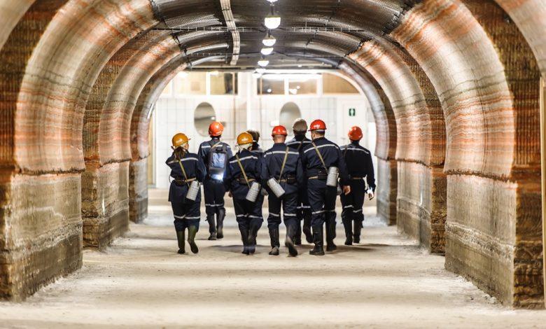 шахтёры Беларуськалия