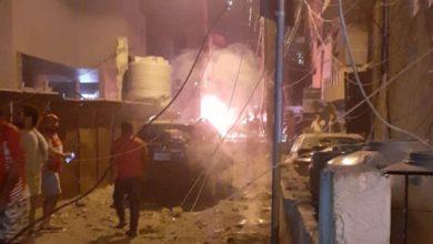 Photo of Трое погибли при взрыве резервуара с мазутом в жилом квартале Бейрута