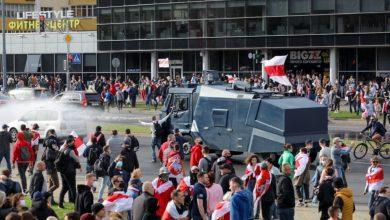 Photo of В Беларуси на акциях протеста 4 октября задержано более 240 человек