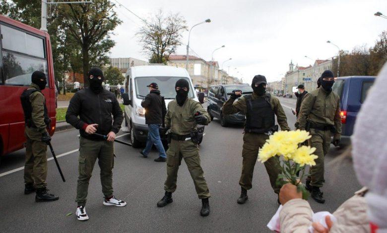 протесты в Беларуси, силовики
