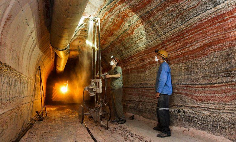 шахта, рабочие
