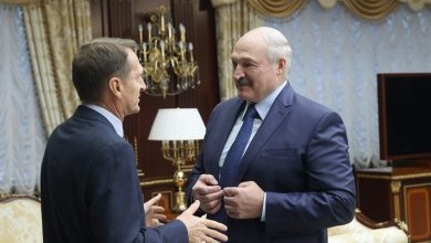 Photo of Лукашенко поблагодарил Нарышкина за взаимодействие спецслужб России и Беларуси