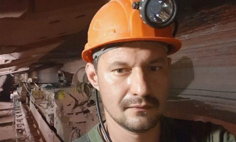 забастовавший рабочий Беларуськалия Александр Клезович
