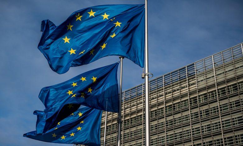 Евросоюз, флаги ЕС, санкции