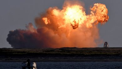 Photo of Прототип корабля Starship Илона Маска взорвался во время испытаний