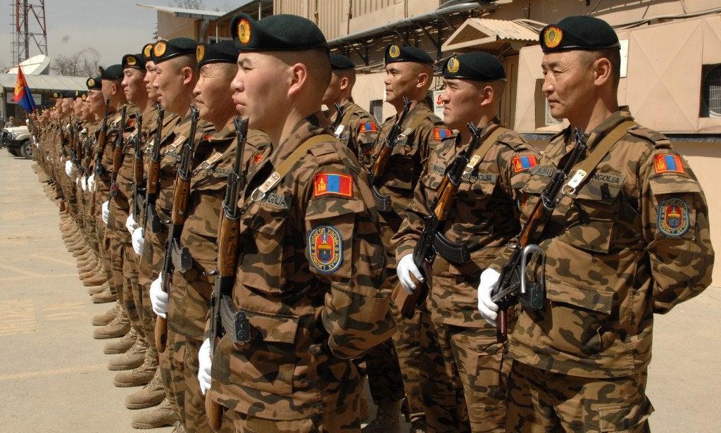 армия Монголии
