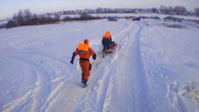 Photo of В Глубоком работники МЧС спасли провалившегося под лёд рыбака