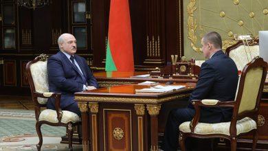 Photo of Александр Лукашенко принял с докладом губернатора Могилевской области