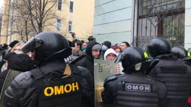 Photo of В Москве возле «Матросской тишины» начались задержания