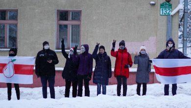 Photo of По всей Беларуси проходят акции протеста в поддержку заключенных