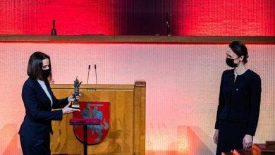 Photo of Литовское правительство присудило «Премию свободы» Тихановской и белорусскому народу