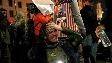 Photo of Сотни активистов, несогласных с результатами выборов в США, вышли на акцию протеста в Вашингтоне