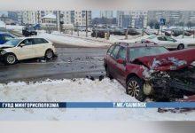 Photo of В Минске две легковушки столкнулись на односторонней улице