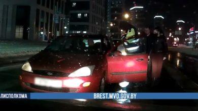 Photo of Нетрезвый брестчанин за рулём Ford сбил пешехода и попытался скрыться