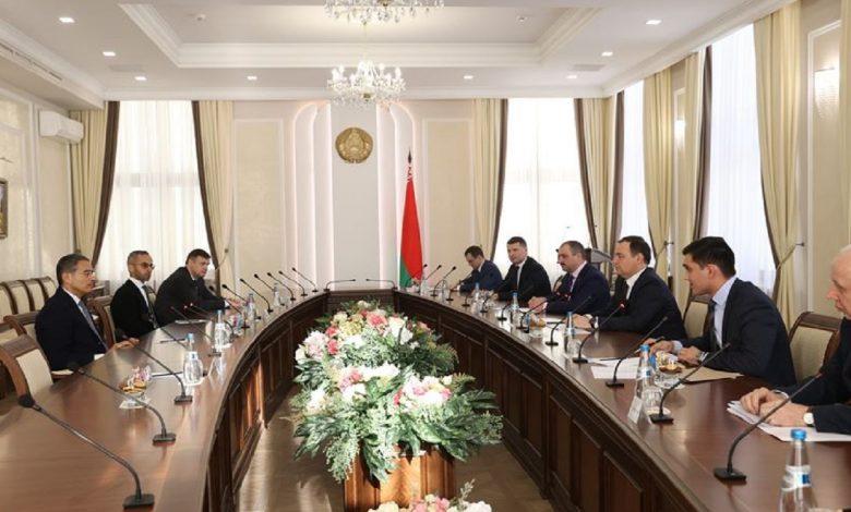 Головченко обсудил с инвестором из ОАЭ реализацию проекта «Северный берег»