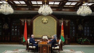 Photo of Лукашенко принял с докладом госсекретаря Совета безопасности