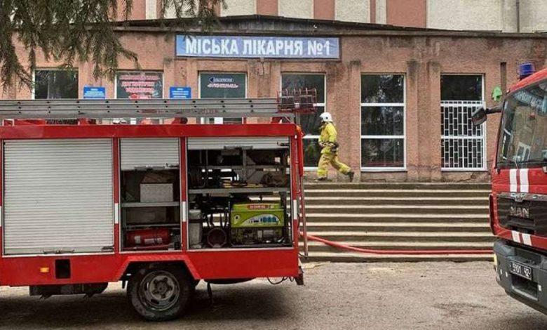 В больнице на Украине произошел взрыв